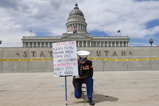 America Protests Utah