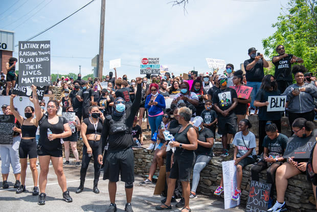 Nationwide protests over George Floyd's death