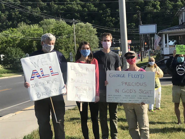 huntingdon protest
