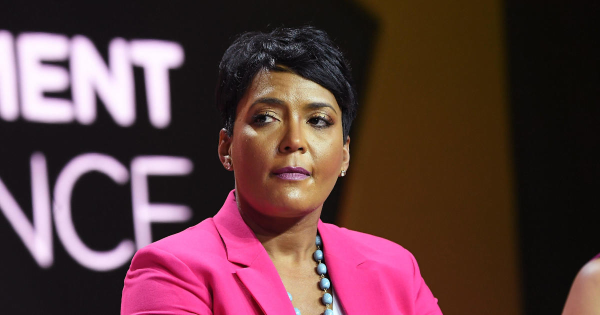 Atlanta Mayor Keisha Lance Bottoms says decision not to run for reelection was