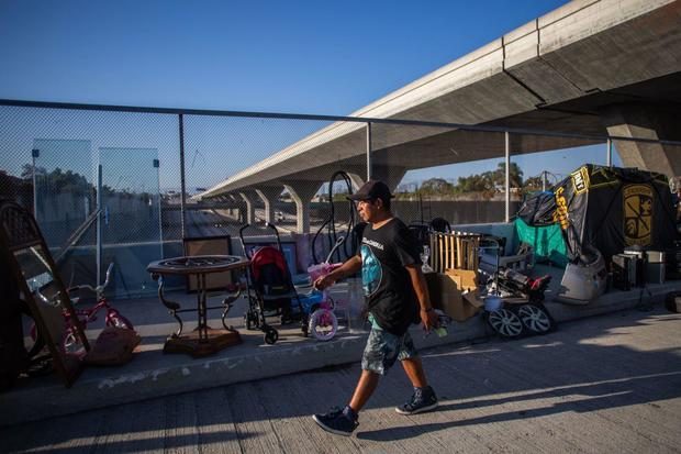Los Angeles homeless coronavirus