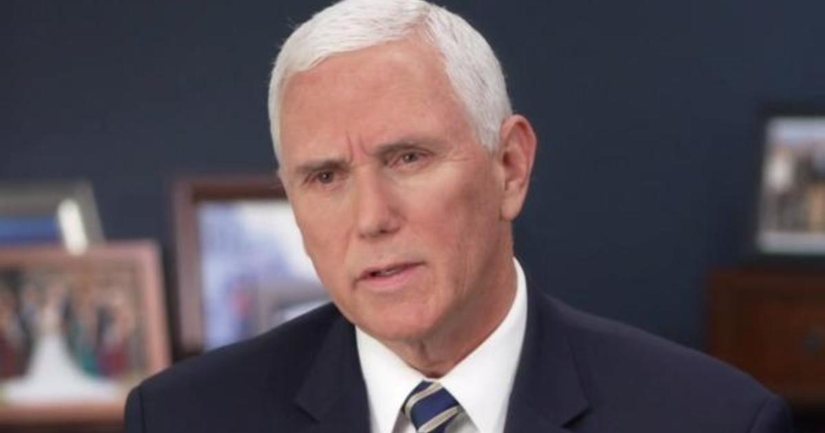 Pence Says Young People Are Contributing To Spike In Covid Cases Cbs News