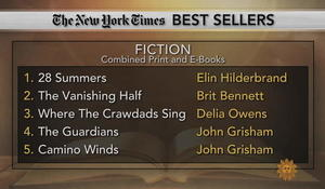 New York Times bestseller lists