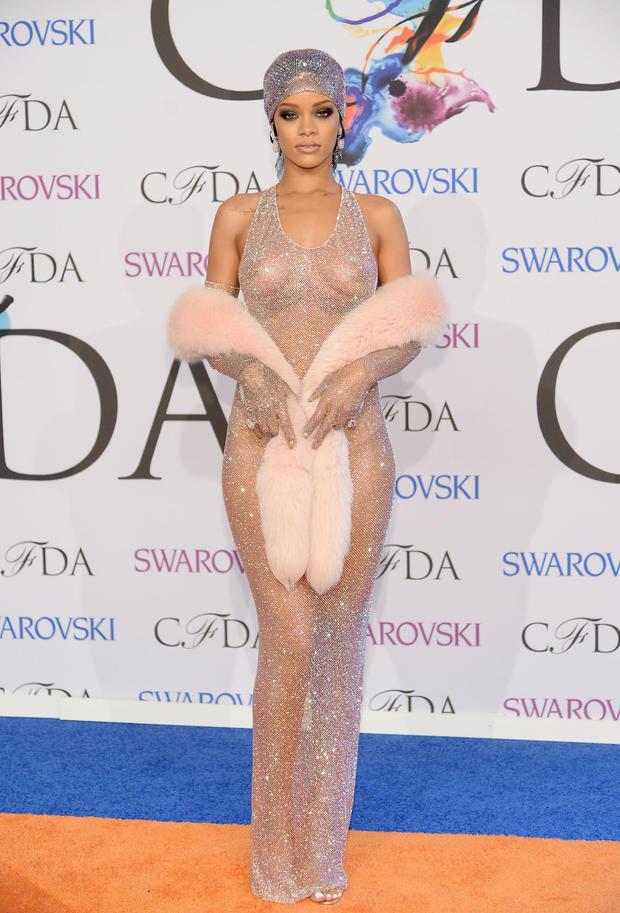 Rihanna is all that glitters