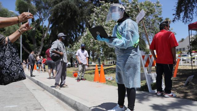 U.S. Struggles With Coronavirus Amid A Surge Of New Cases