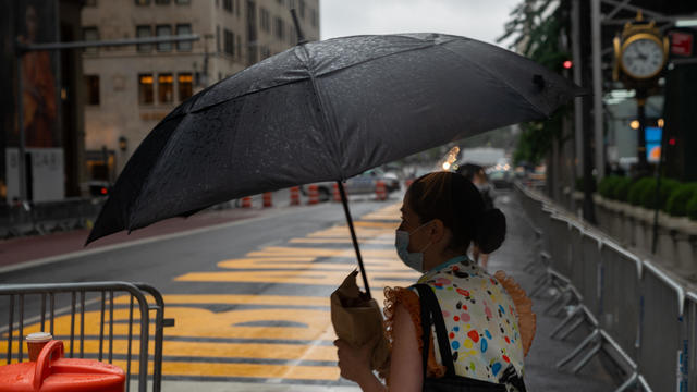 Tropical Storm Fay Brings Heavy Rain And Winds To New York
