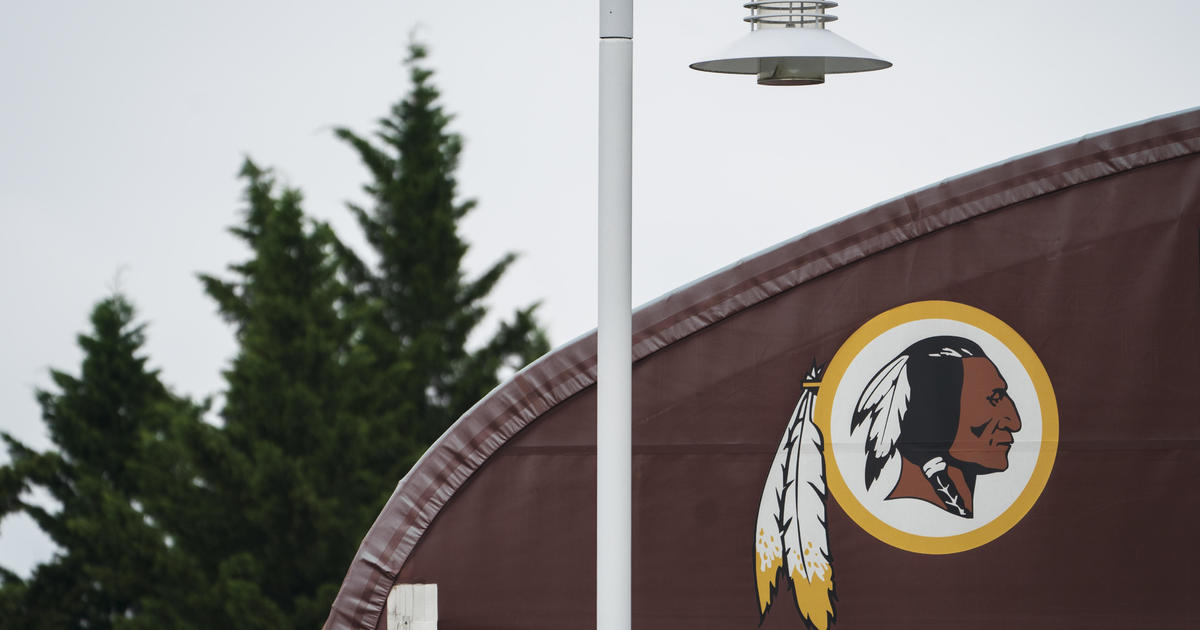 """Man trademarks over a dozen possible names for Washington NFL team as they get rid of """"Redskins"""" – CBS News"""