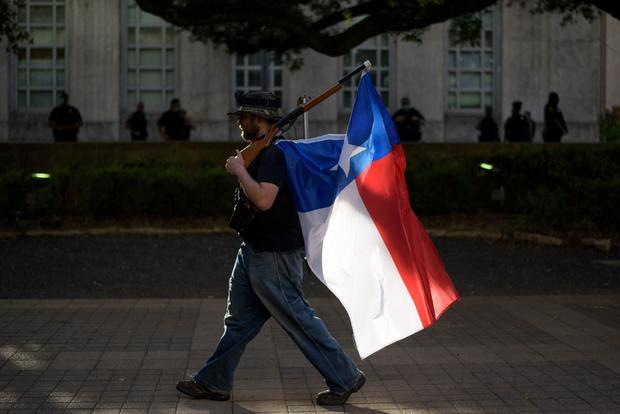 Gun restrictions Texas