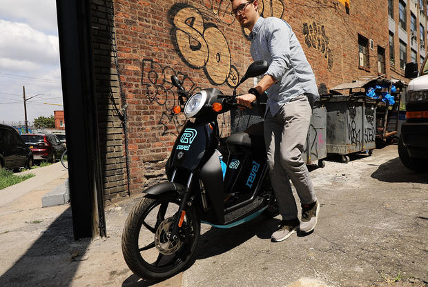 """New """"E-Moped"""" Ride-Share Launched In Brooklyn"""