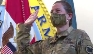 Lieutenant General Jody Daniels becomes the Army Reserve's first female chief
