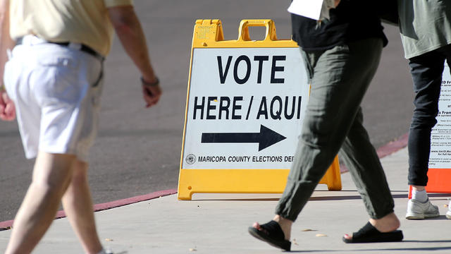 Arizona Voters Casts Their Vote In State's Primary