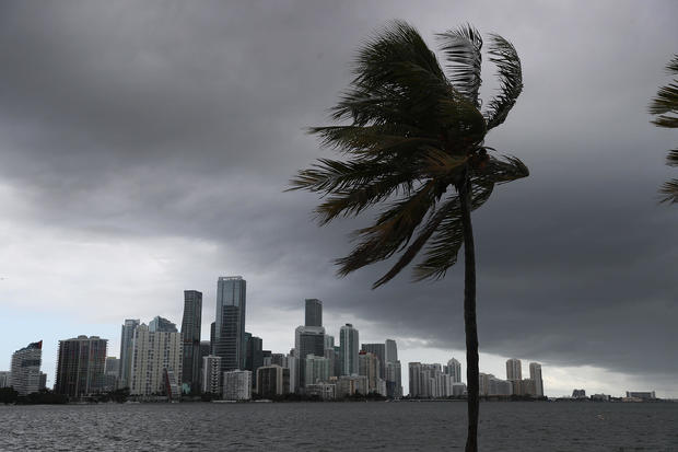 Hurricane Isaias Brushes Along Florida's Eastern Coast