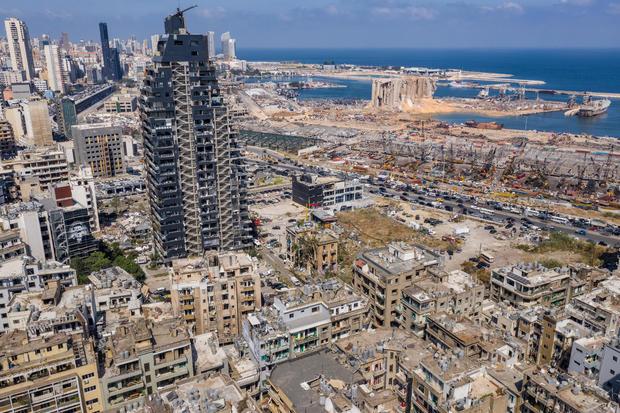 Countless Beirut Landmarks Damaged By Port Explosion