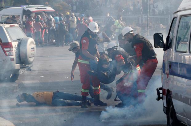 Protests called for in central Beirut days after devastating explosion