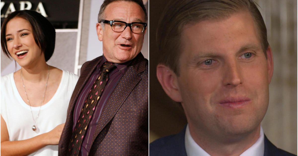 Robin Williams' daughter Zelda fires back at Eric Trump for sharing video of her late father joking about Joe Biden