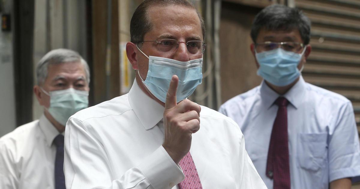 Image of article 'Fauci, Azar cast doubt on Putin's coronavirus vaccine claim'