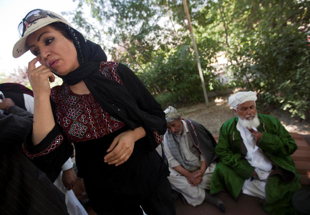 FILE PHOTO: Afghanistan policewoman turned filmmaker hurt in attack