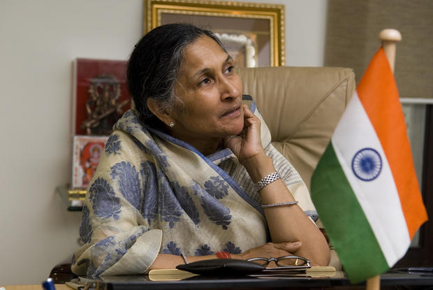 Profile Shoot Of Non-Executive Chairperson Of Jindal Steel & Power Limited Savitri Jindal