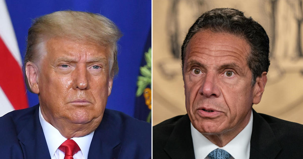 "Cuomo says Trump ""better have an army"" to walk down the streets of NYC – CBS News"