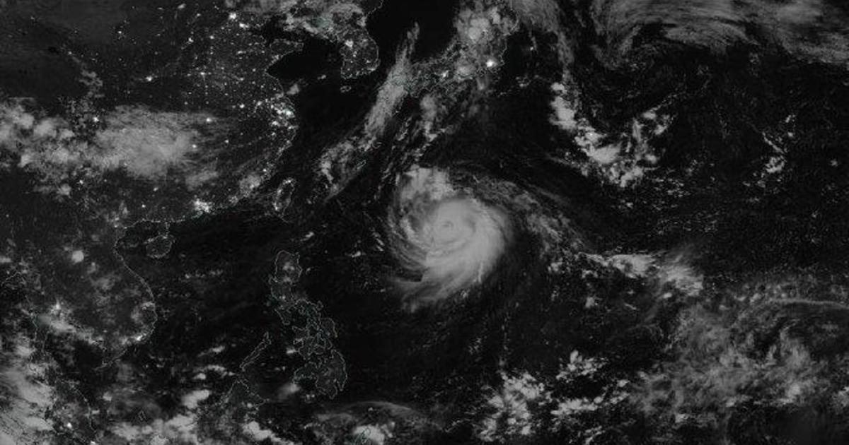 Japan braces as Super Typhoon Haishen approaches – CBS News