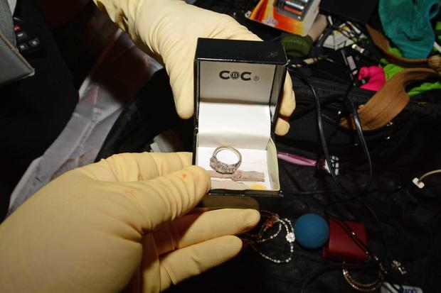 Shanti Cooper's engagement ring