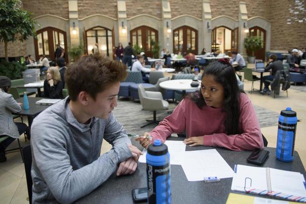 Washington University Chancellor Teaches Class on Campus Free Speech