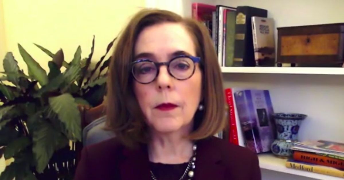 """Oregon governor calls wildfires a """"wake-up call"""" on climate change"""