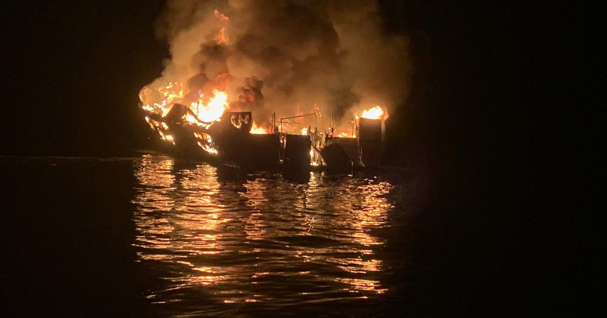California dive boat captain charged with manslaughter in 2019 fire that killed 34 people