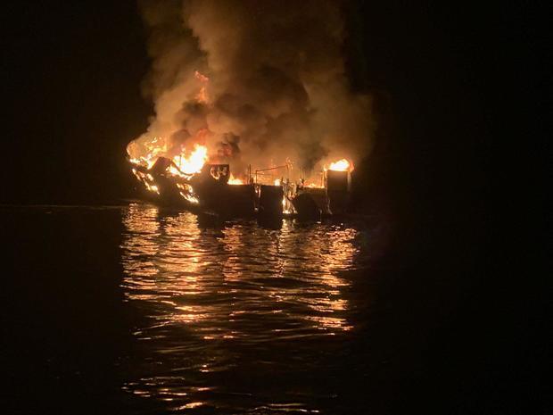 deadly dive boat fire California
