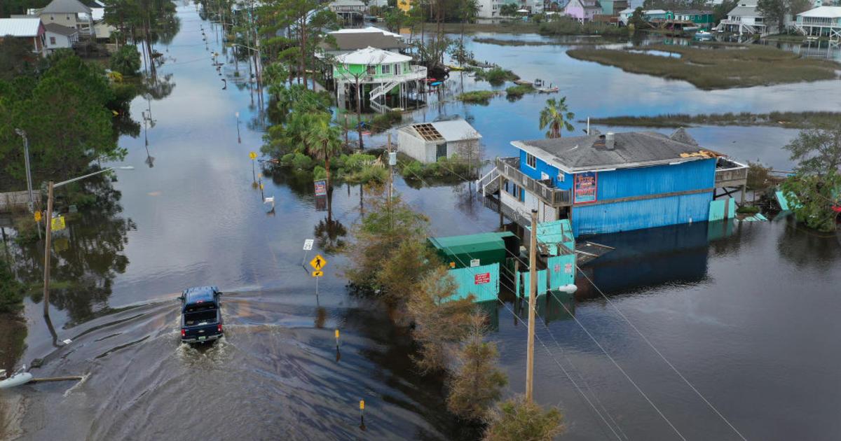 Hurricane Sally aftermath: Flooding threats expand across the Southeast – CBS News