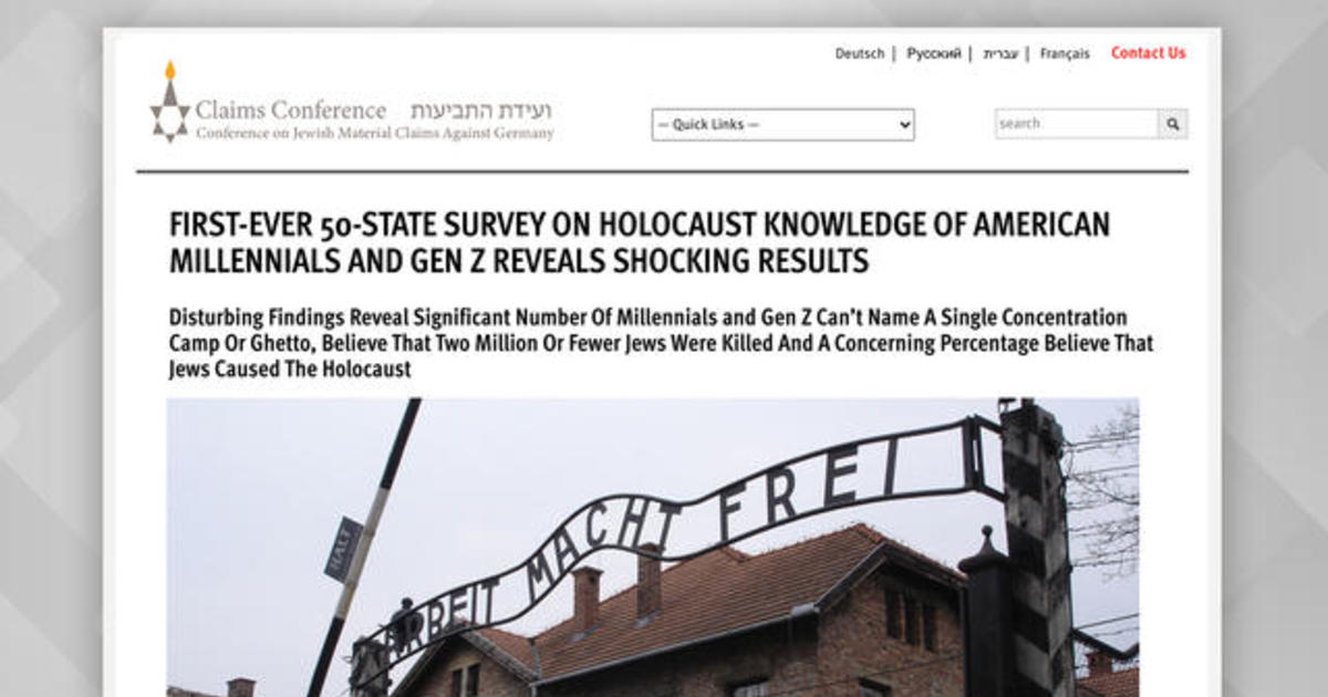 Survey: Young Americans lack basic knowledge about the Holocaust