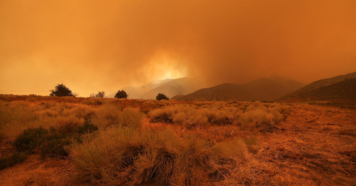 A firefighter battling the El Dorado Fire in California has been found dead – CBS News