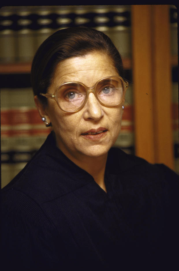 Judge Ruth Bader Ginsburg in her Chambers US Courthouse