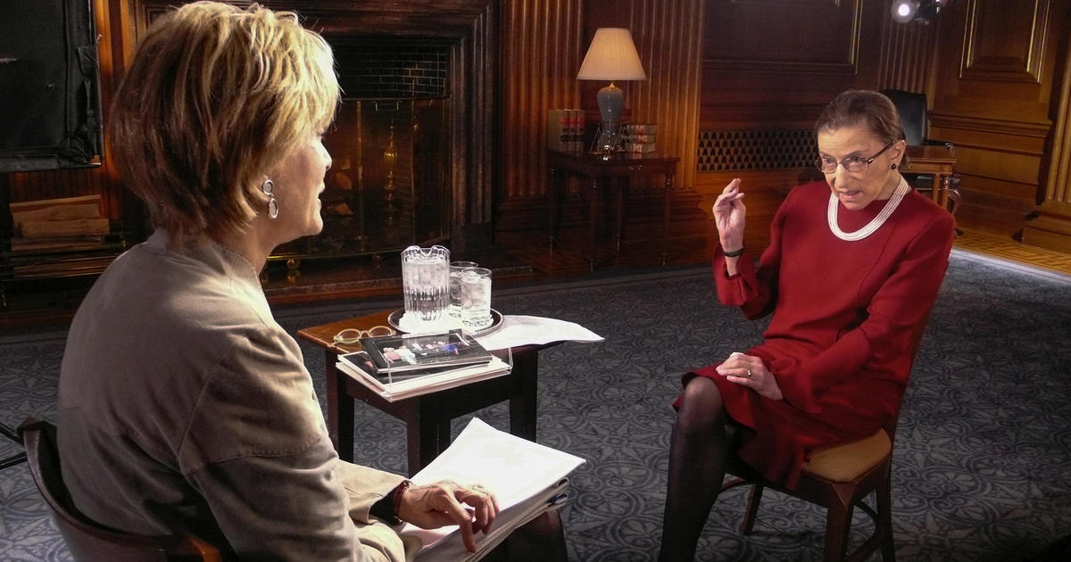 Ruth Bader Ginsburg on 60 Minutes in 2008