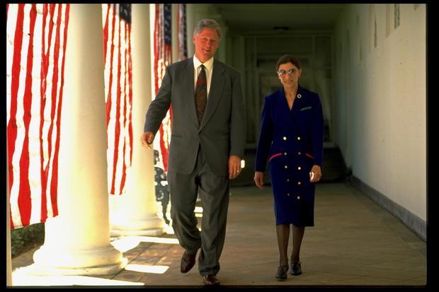 Ruth Bader Ginsburg;William J. Clinton