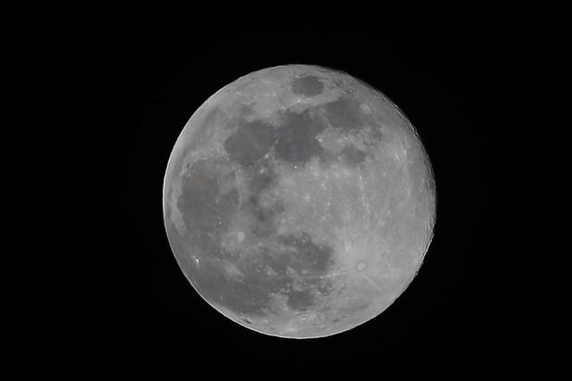 A Rare Blue Moon Will Light Up The Halloween Night Sky Cbs News