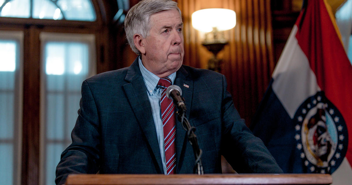 Missouri Governor Mike Parson and his wife Teresa test positive for coronavirus – CBS News