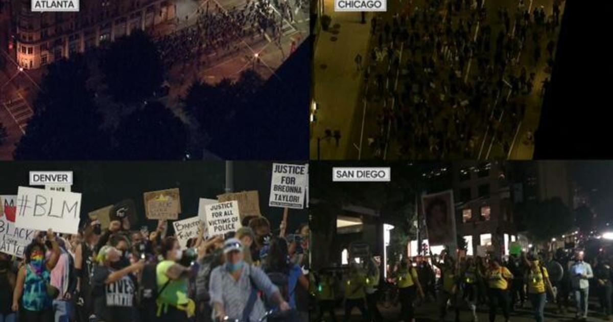 Protests erupt nationwide over Breonna Taylor case