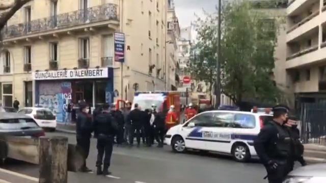Stabbing Attack Outside Former Charlie Hebdo Office In Paris Leaves 2 Wounded Cbs News