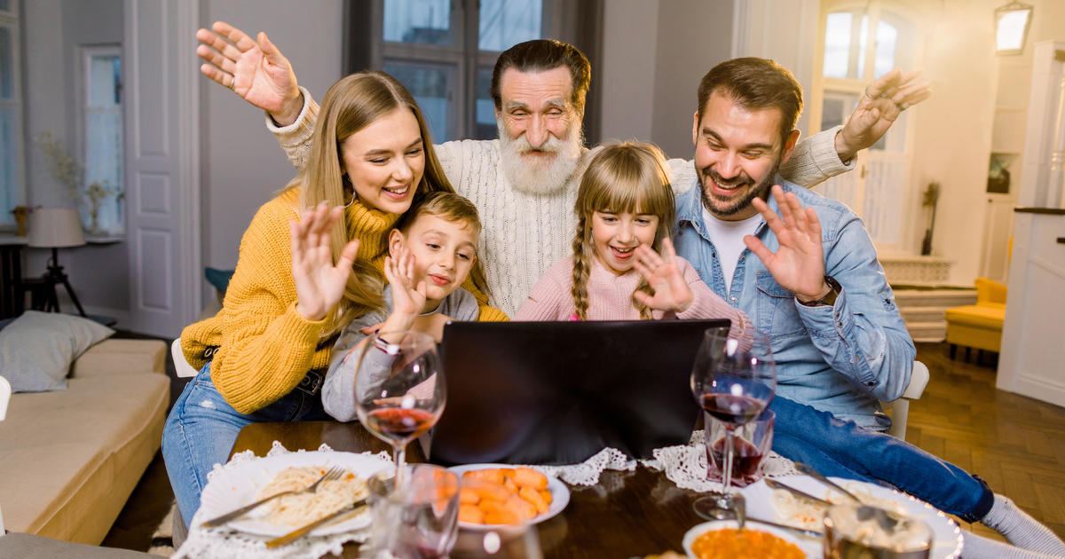 Cdc Recommends Virtual Thanksgiving To Lessen Risk Of Covid 19 Spreading Cbs News