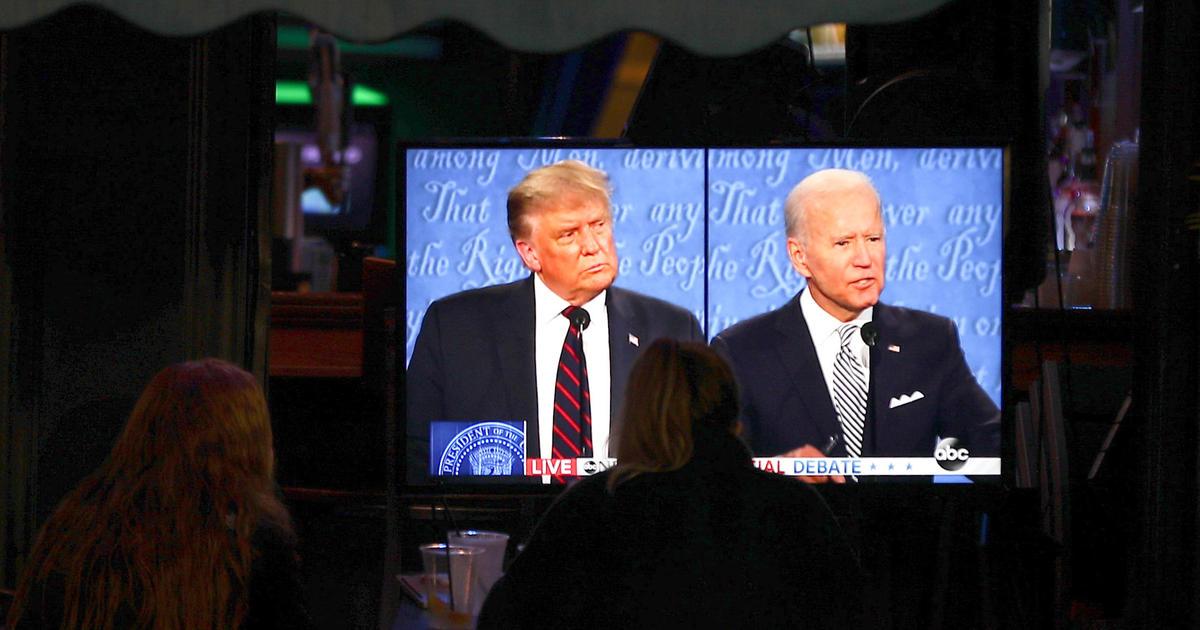 """Debate-watchers say Biden won first debate, but most felt """"annoyed"""" — CBS News poll"""