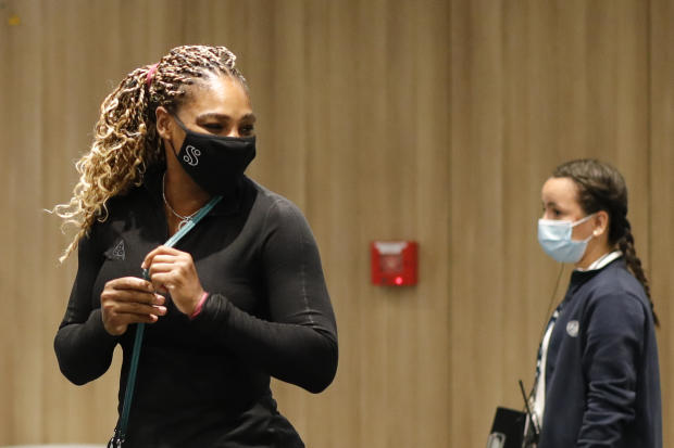 "Serena Williams quits French Open, says she's ""struggling to walk"""