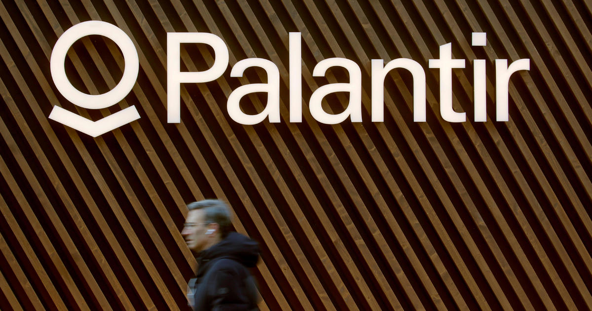 Palantir shares jump 30% in stock market debut – CBS News