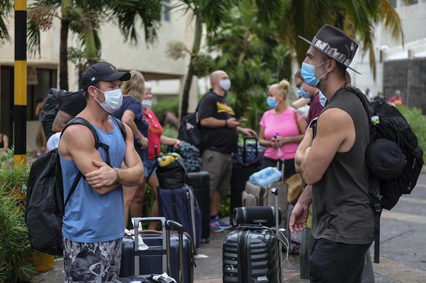 Hurricane Delta — Cancun, Mexico