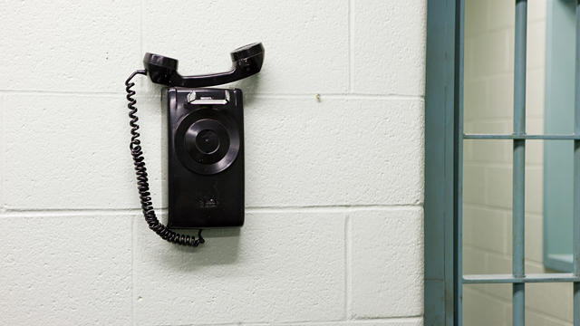 Telephone in prison