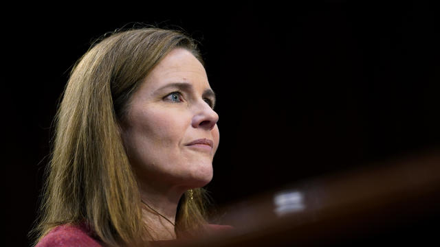 Senate Judiciary Confirmation Hearing For Supreme Court Nominee Amy Coney Barrett