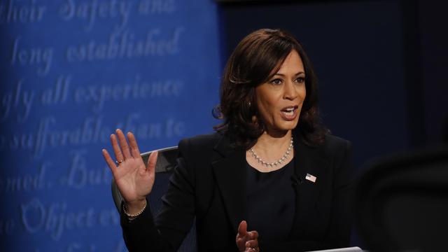 Kamala Harris And Mike Pence Participate In Vice Presidential Debate
