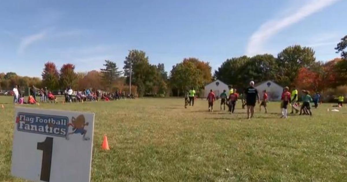Ohio parents share competing views on election at flag football game