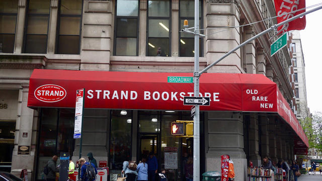 View Of The Strand Bookstore