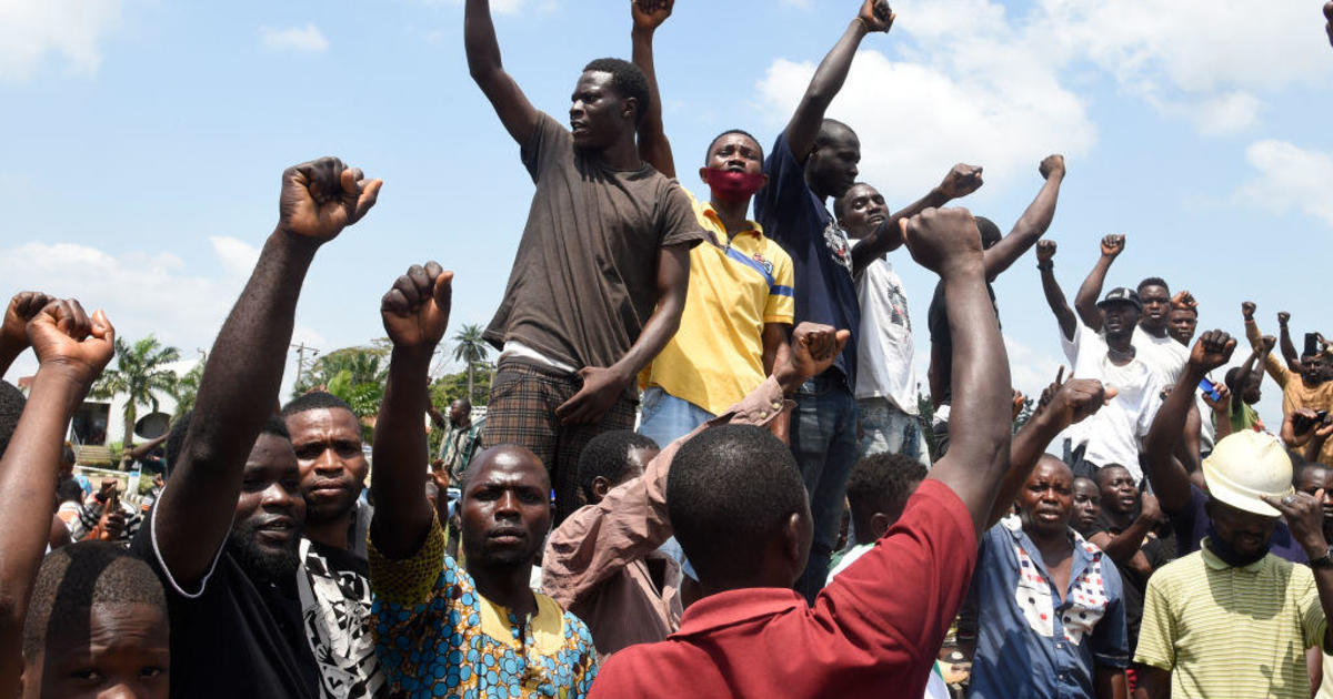 """""""We're here to defend our unity"""": Nigeria clashes trigger global movement against police brutality"""